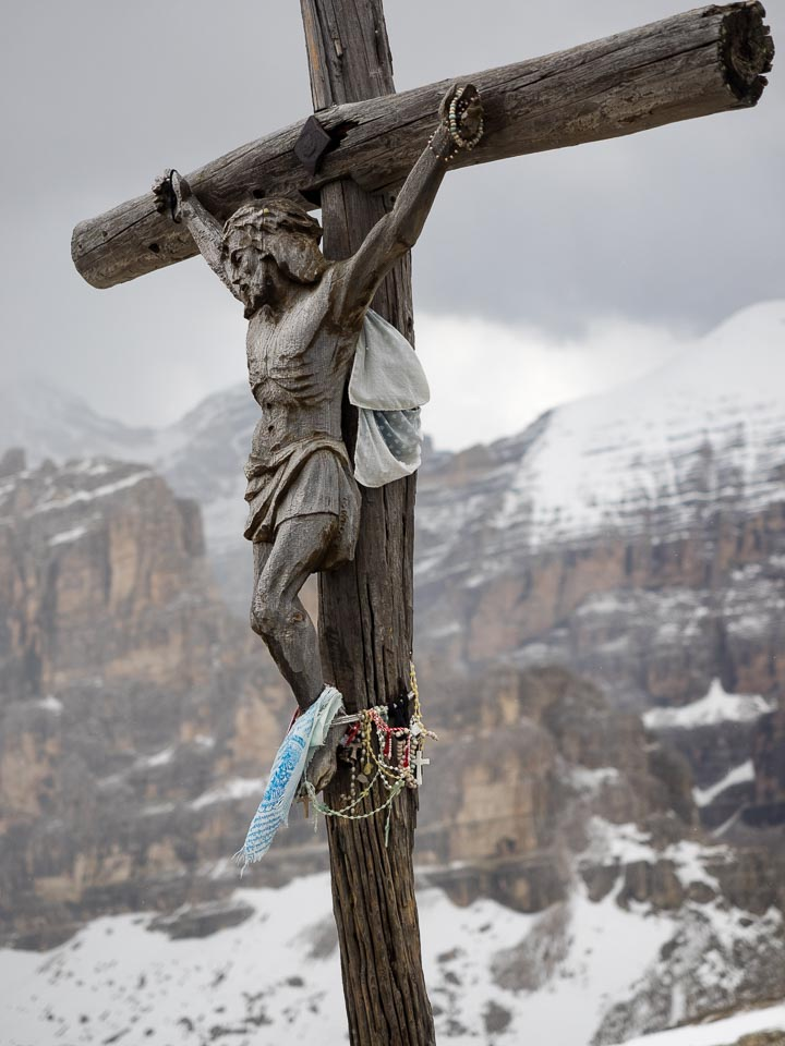 Summit Cross of Mt. Lagazuoi