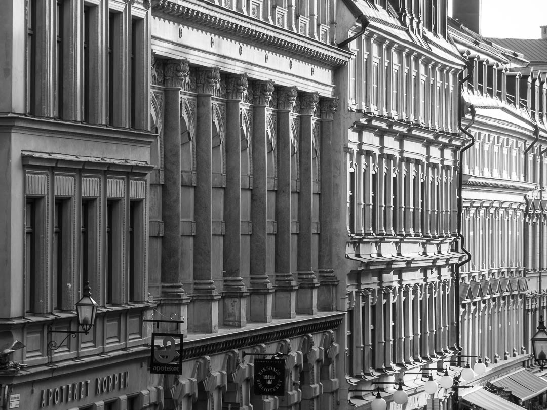 Gamla Stan Fassaden