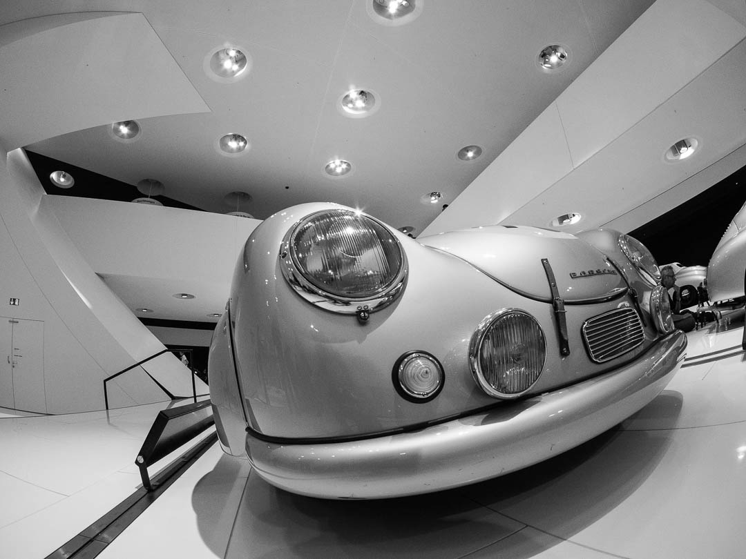 Porsche Museum with Fish Eye lens