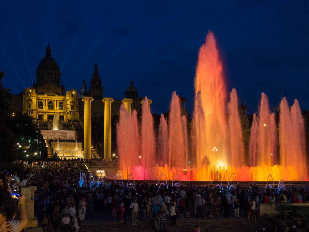 Font Màgica - Magic Fountain - Barcelona