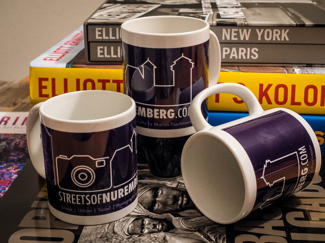 Streets of Nuremberg Coffee Mugs