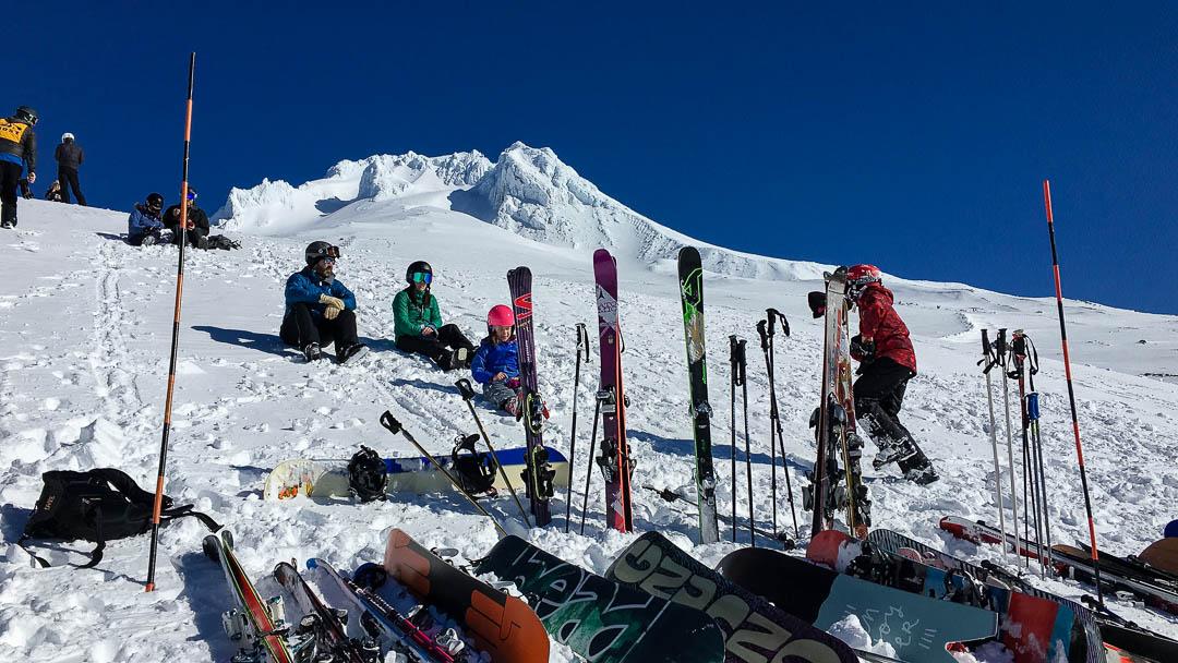 Ski the Volcano