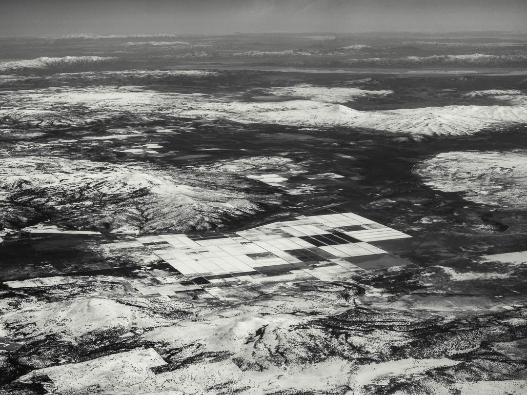 Monochrom Aerial Photography 02