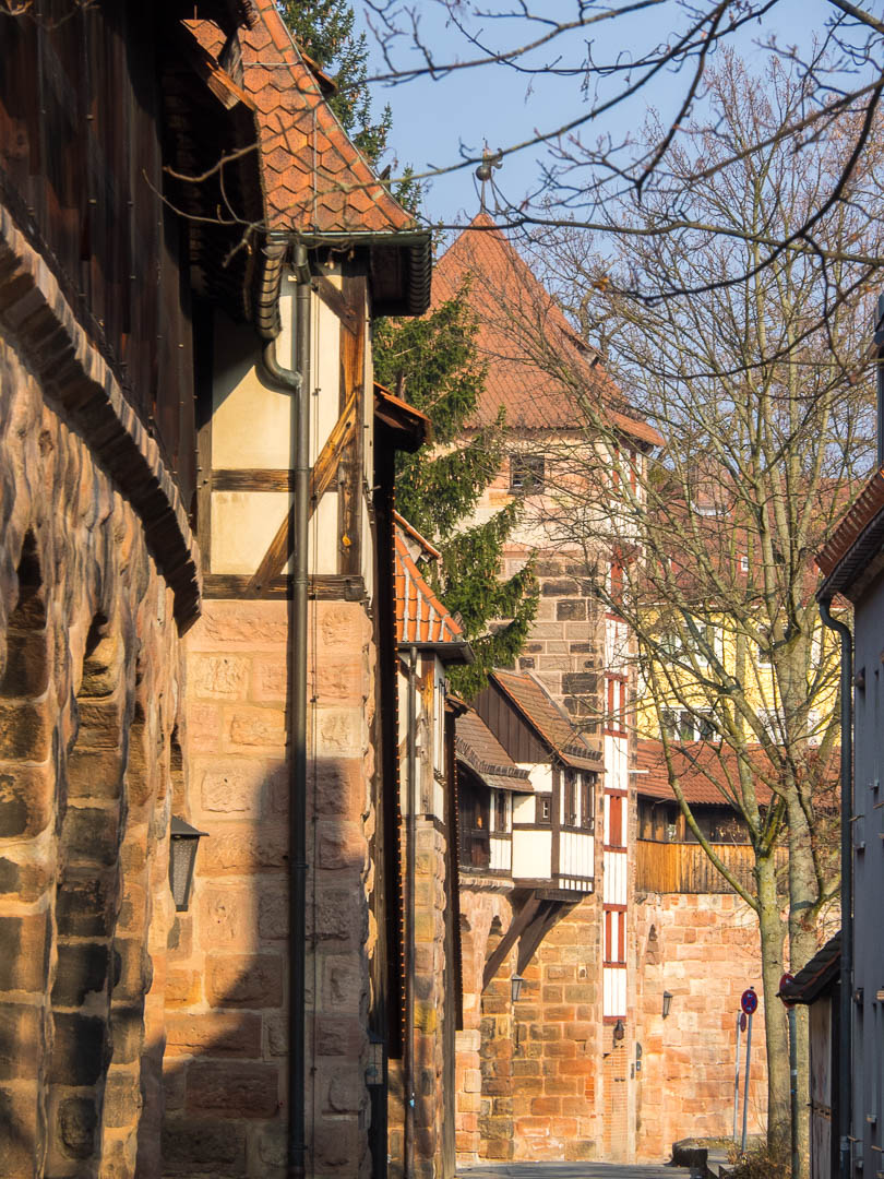 Nuremberg Historic City Walls 01