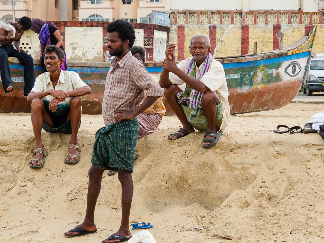 Chennai Beach Scenes