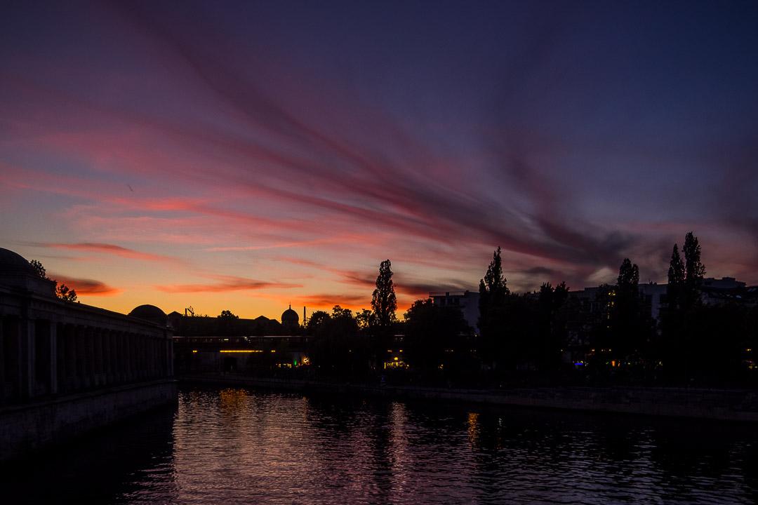 A capital Sunset