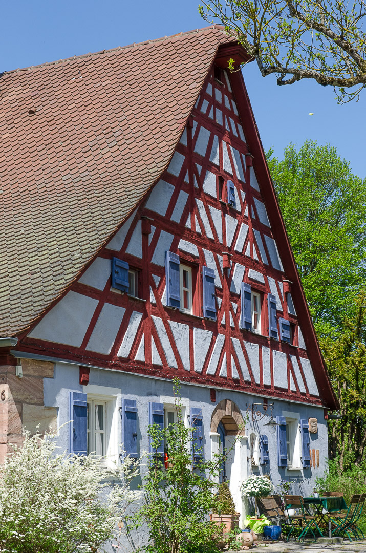 Bauernhaus in Oberhembach