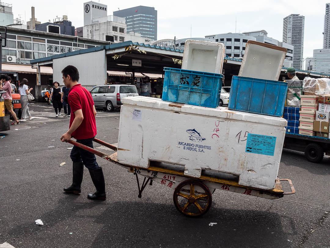 Tsukiji Fish Market |Tokyo |2017