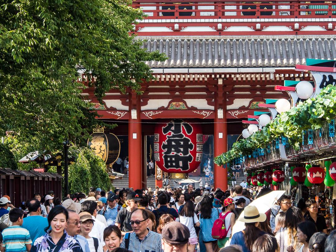 Tokyo Asakusa Street Life