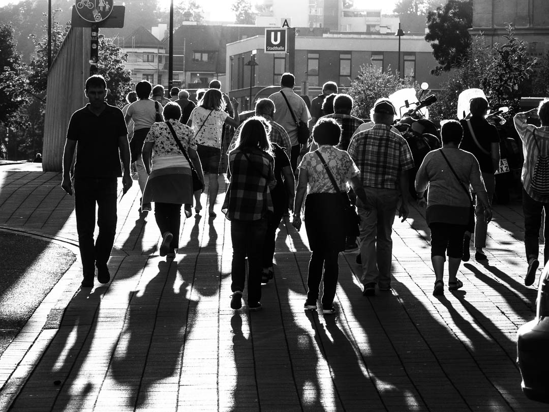 Backlit Pedestrians_