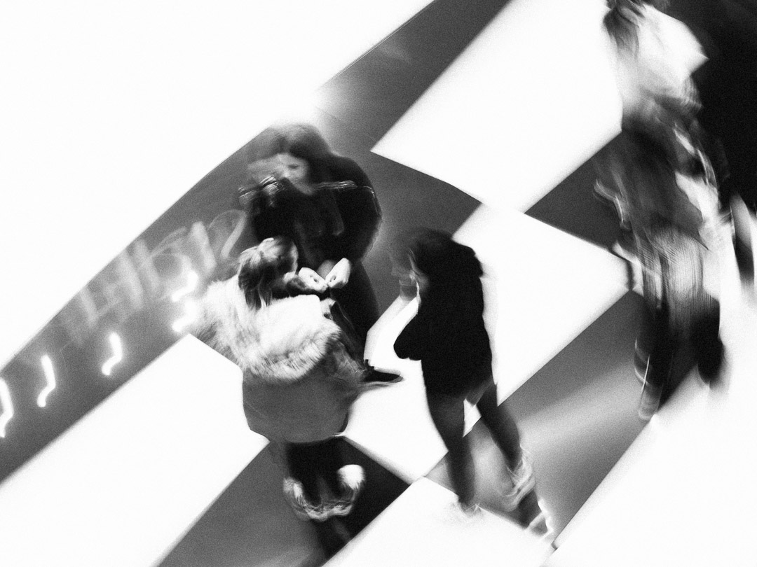 Blurred Shopping Girls