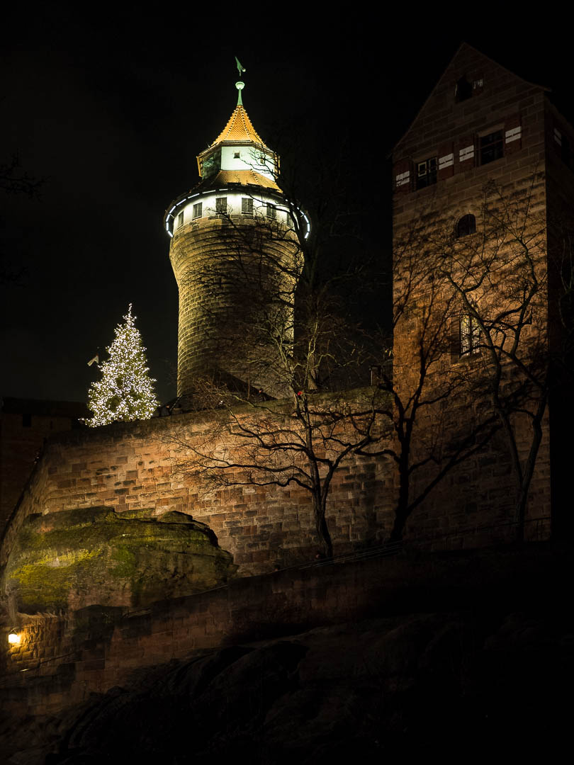 Imperial Castle | Nuremberg | 2017 1/25 sec @ f/1.8 and ISO 1600