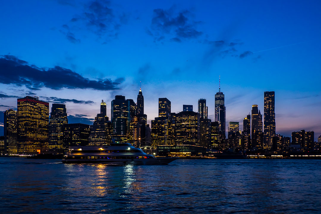 Blue Hour Skyline