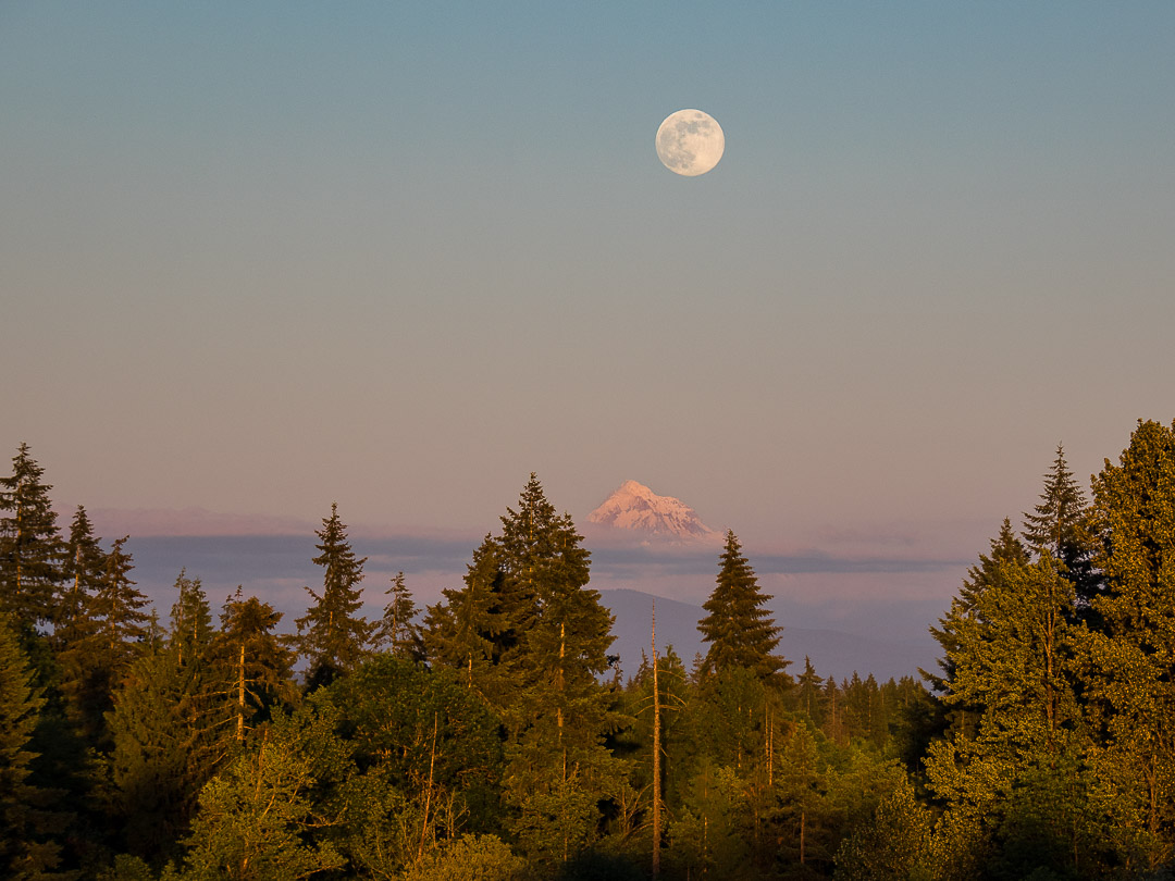 Supermoon | Oregon | 2018