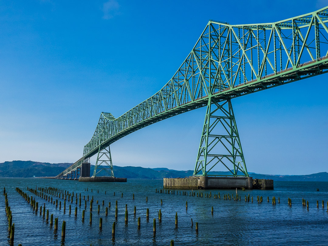 Astoria Megler Bridge | 1/640 sec - f/11 - ISO 400 - 20mm