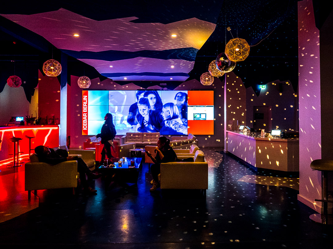 Ice Bar Lobby Color |Berlin |2018