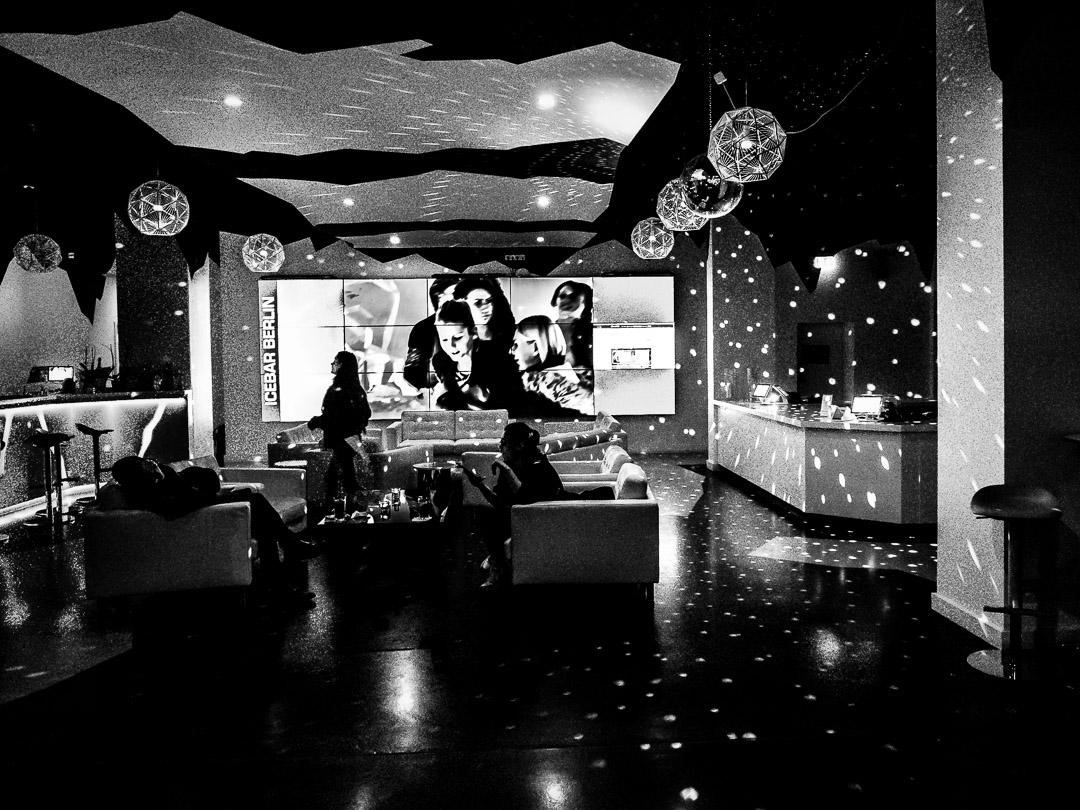 Ice Bar Lobby Monochrome |Berlin |2018