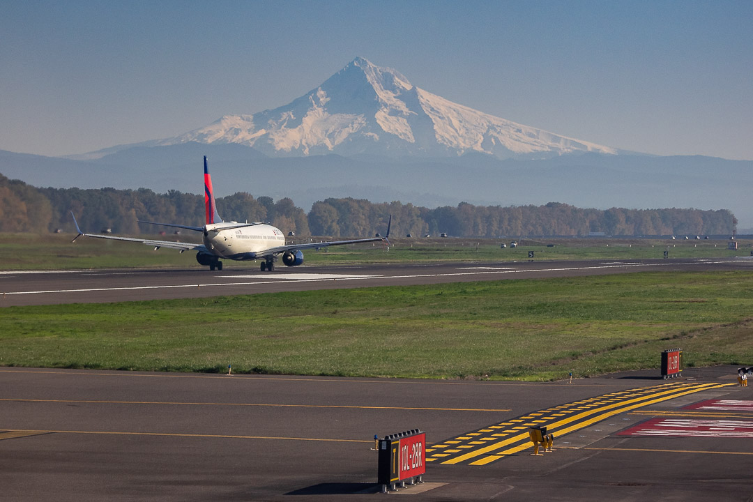Takeoff from PDX