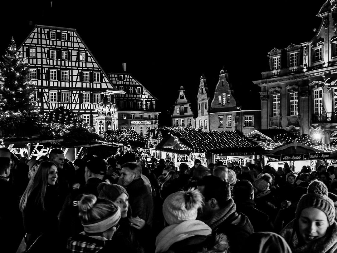 Weihnachtszauber |Schwäbisch Hall |1/10 sec - f/4 - ISO 1600 - 20mm