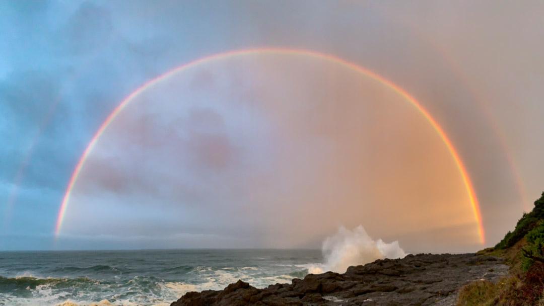 Sunrise Rainbow |2018 |Depoe Bay