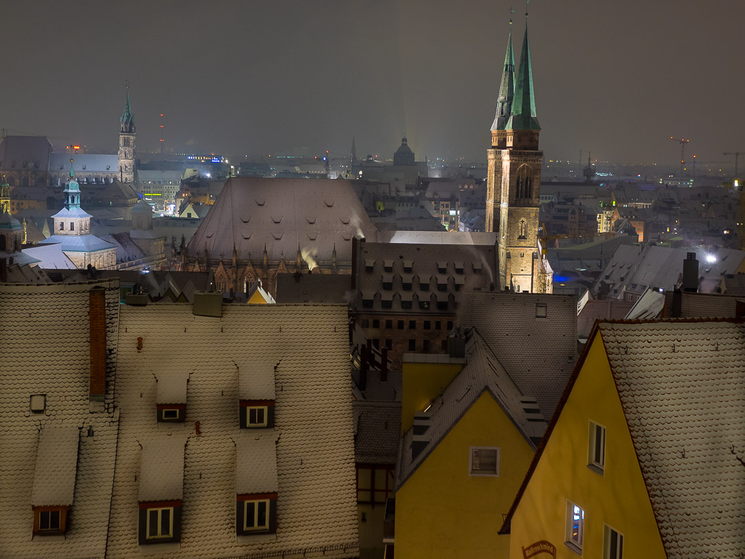 nuremberg old town in winter 18