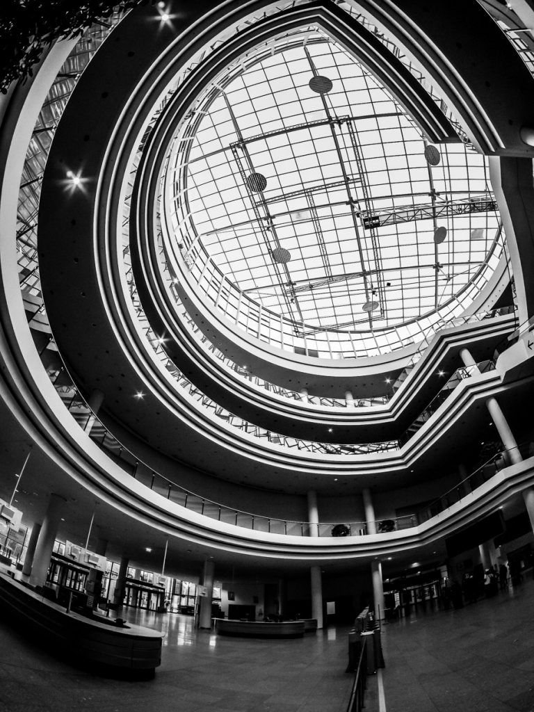 Entrance Hall at NürnbergMesse with Fisheye