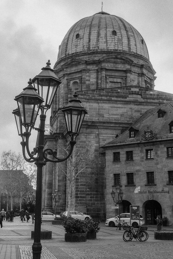 St. Elisabeth Church in Old Town in Nuremberg