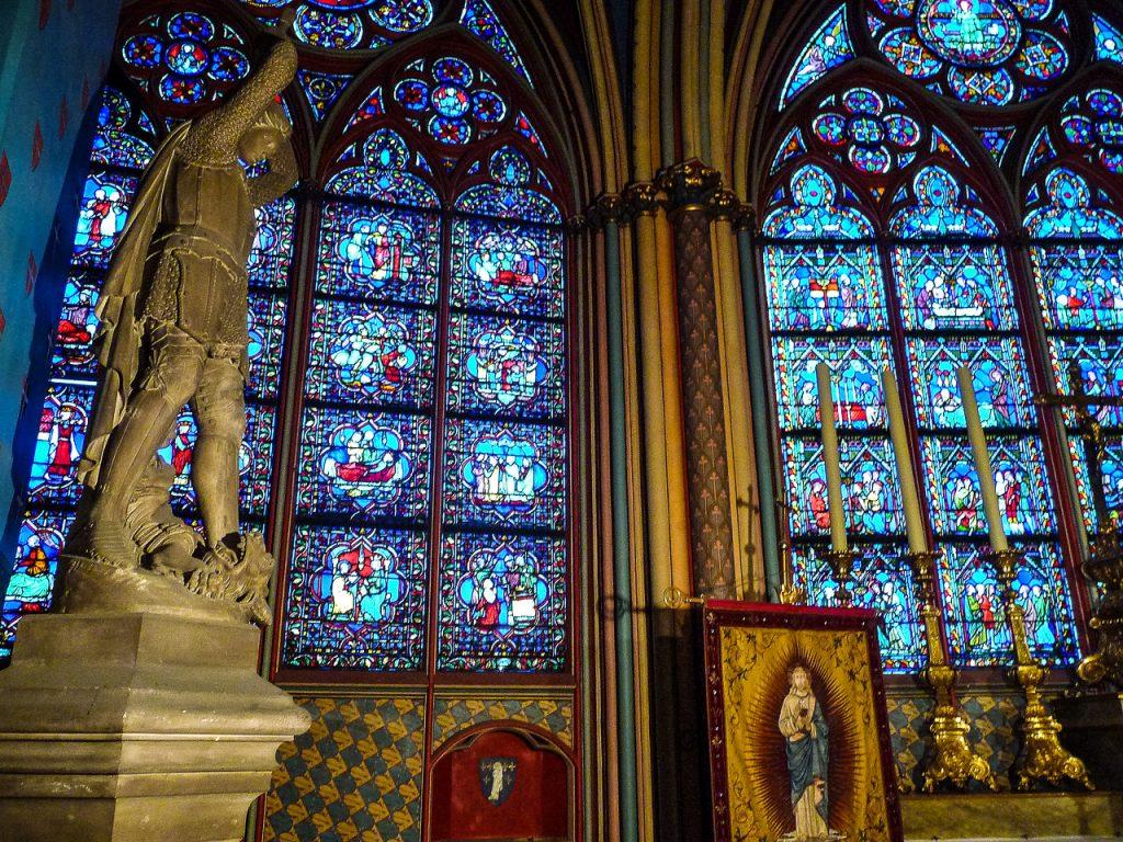 Interior of Notre Dame de Paris