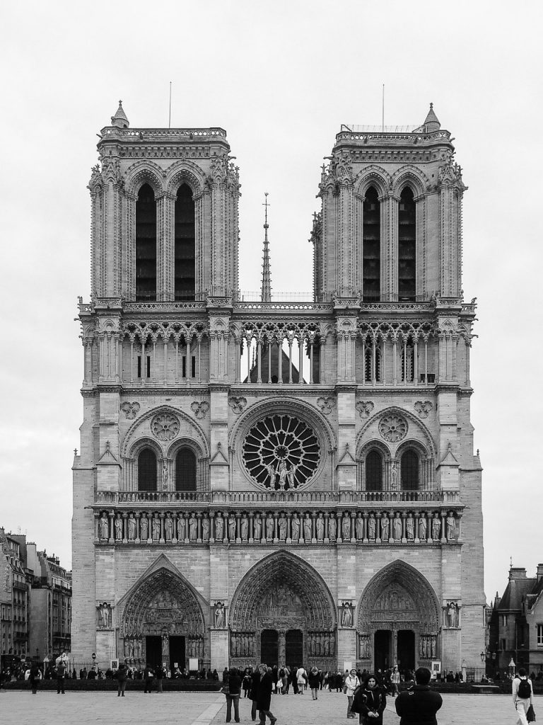 West Facade of Notre Dame de Paris
