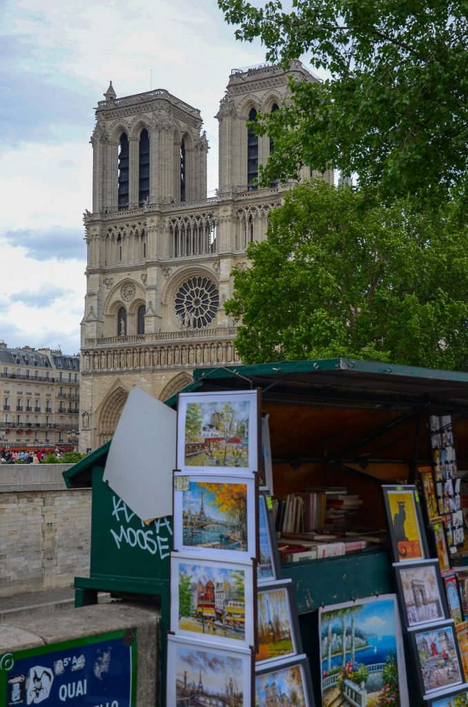 Notre Dame and Bouquinistes