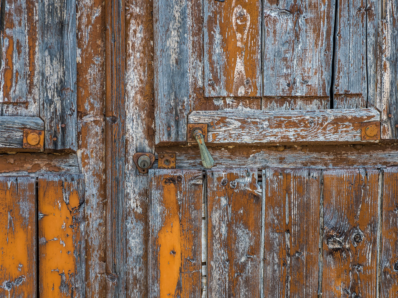 Old Door in Montalto Ligure