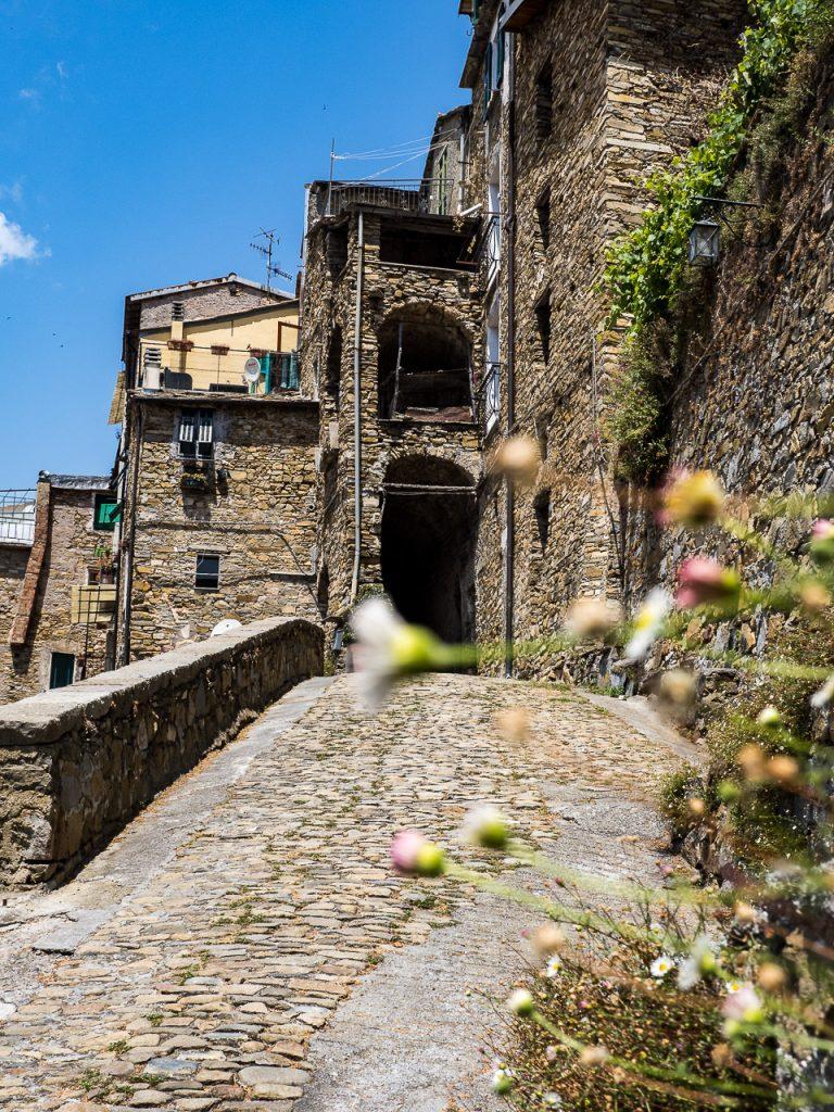 City Gate in Montalto Ligure