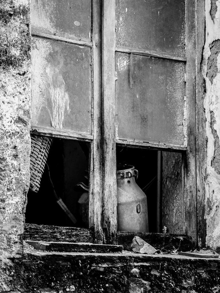 Broken Window in Montalto Ligure