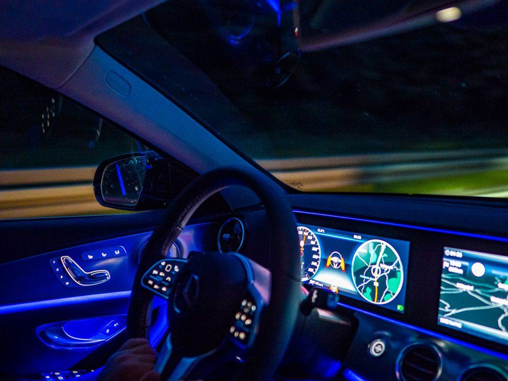 2019 Mercedes E220 Cockpit