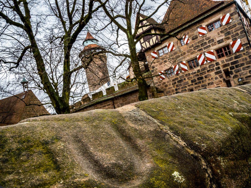 Eppelein Sprung auf der Nürnberger Kaiserburg