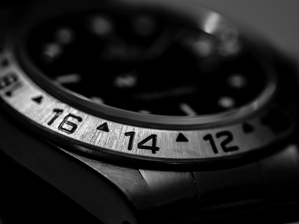 Monochrome Rolex Detail