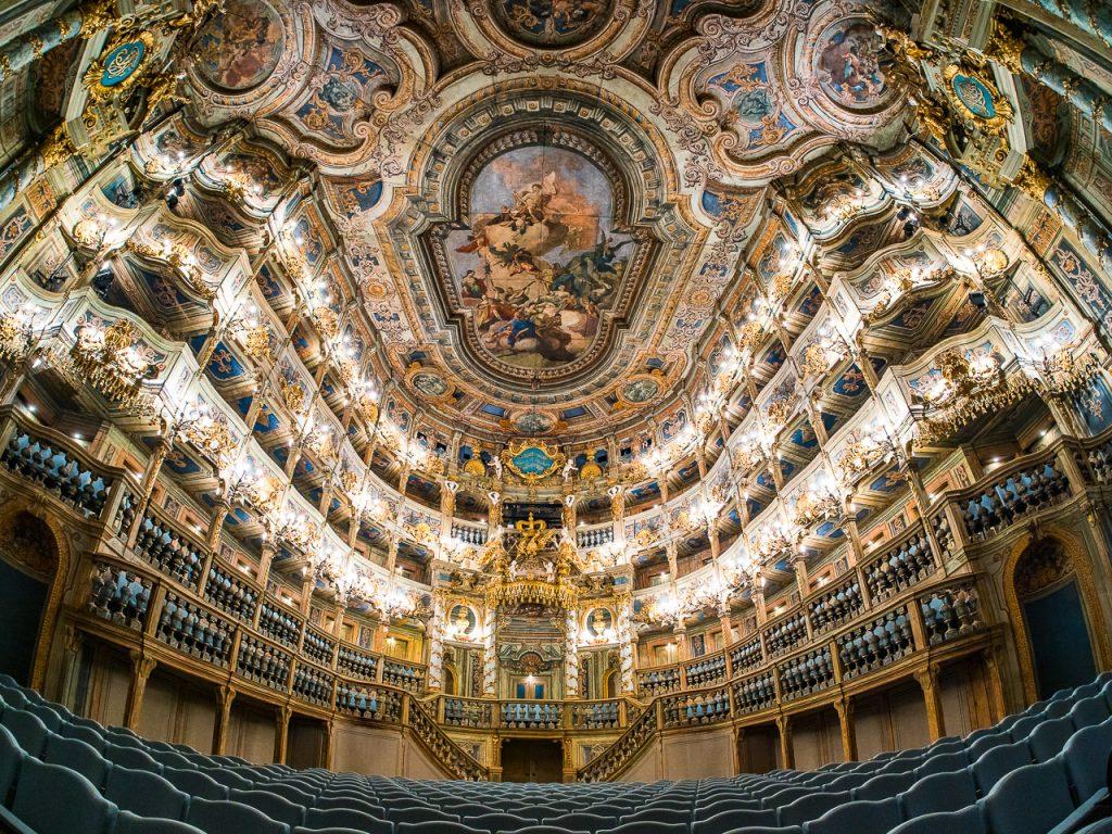 Markgräfliches Opernhaus Bayreuth Interior