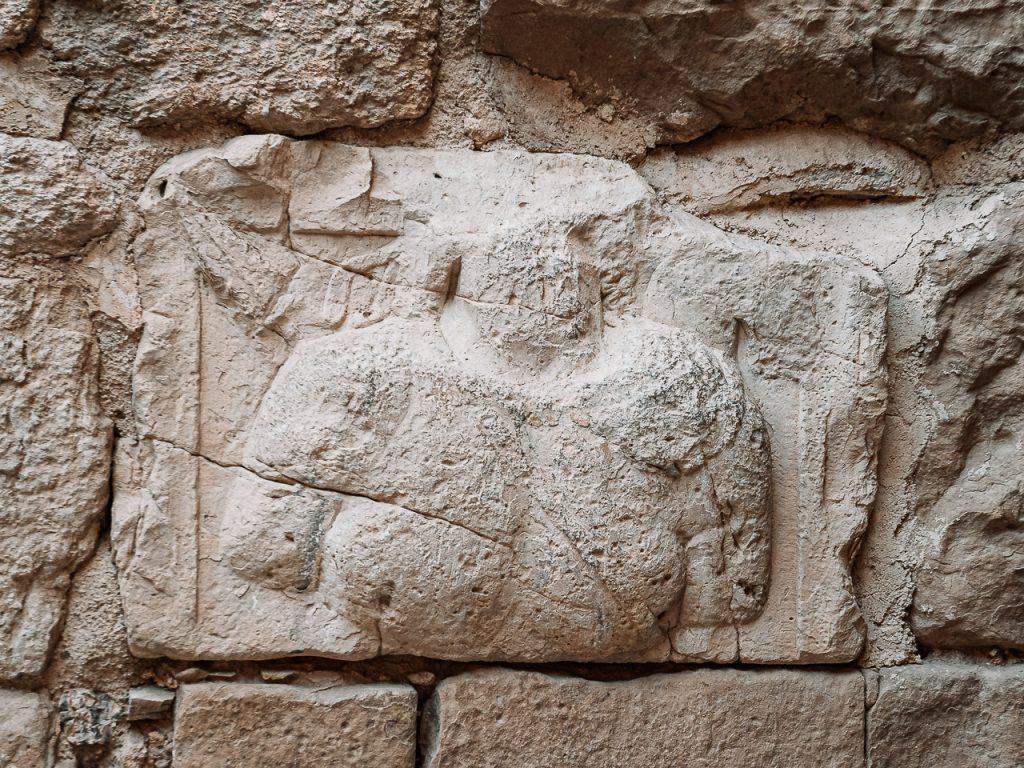 Kerak Castle Nabatean Stone