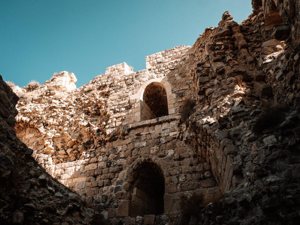 Kerak Castle Interior Courtyard