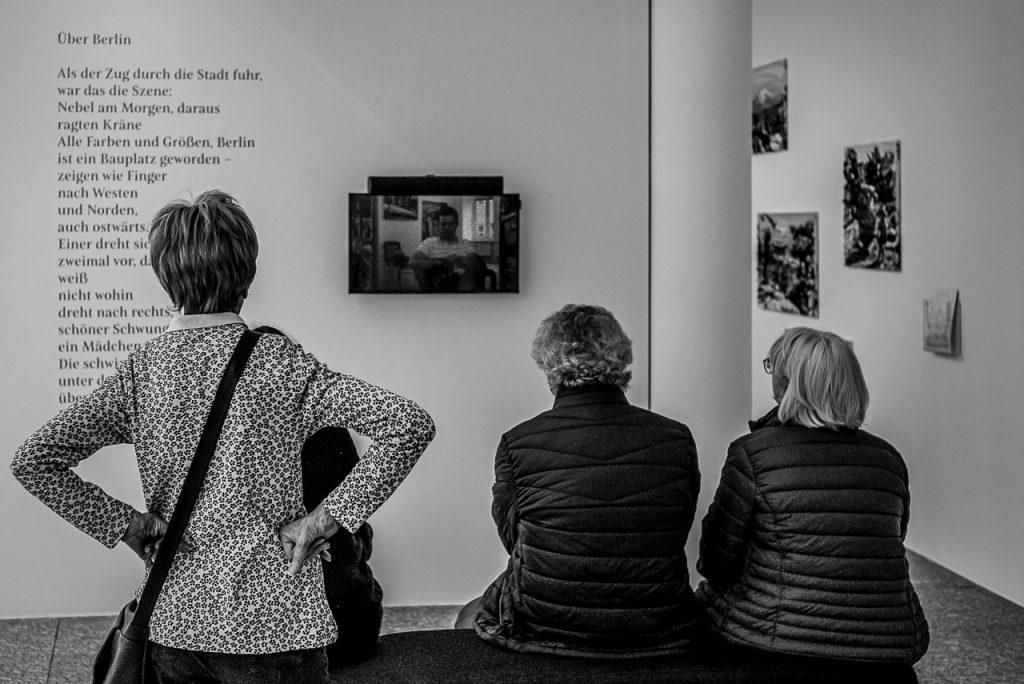 Movie in an exhibition