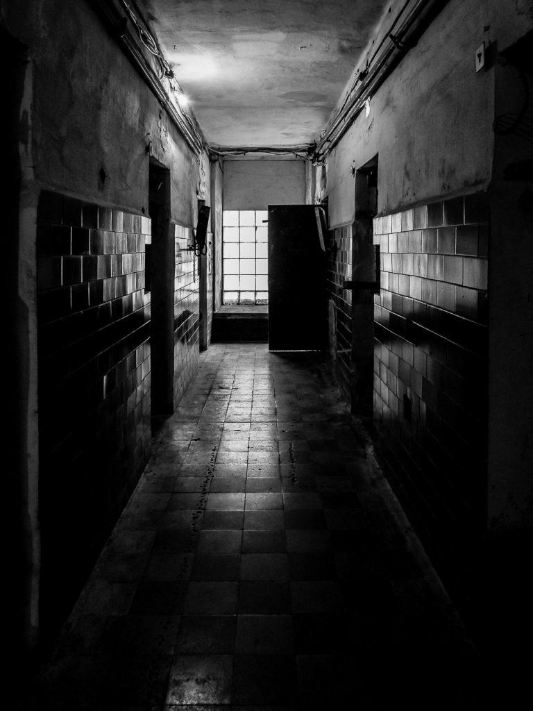 Patarei Prison - hallway