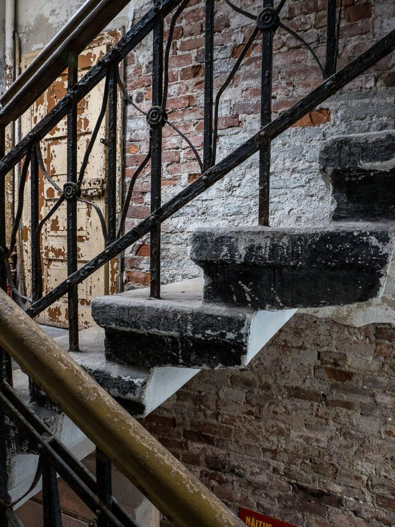 Patarei Prison - staircase