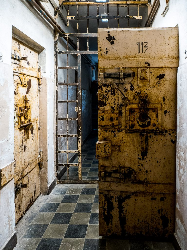 Patarei Prison - cell block