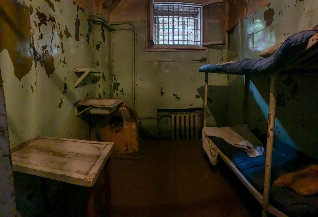 Patarei Prison - interior of cell