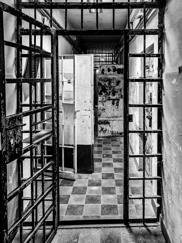 Patarei Prison - cell block view