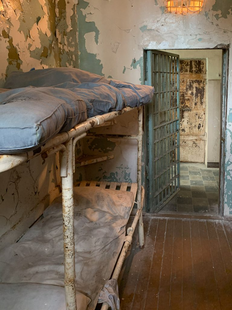 Patarei Prison - cell beds