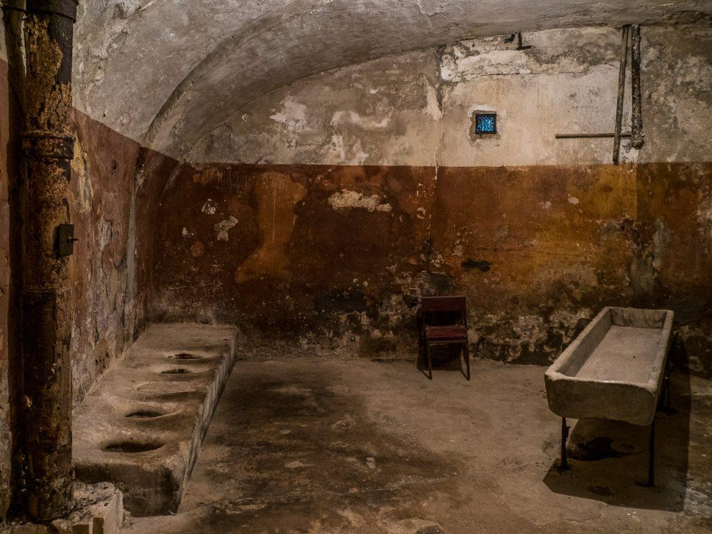 Patarei Prison - wash room