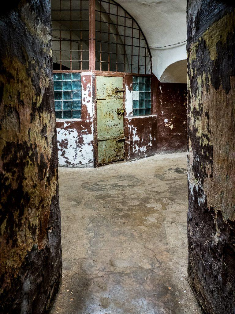 Patarei Prison - main hallway