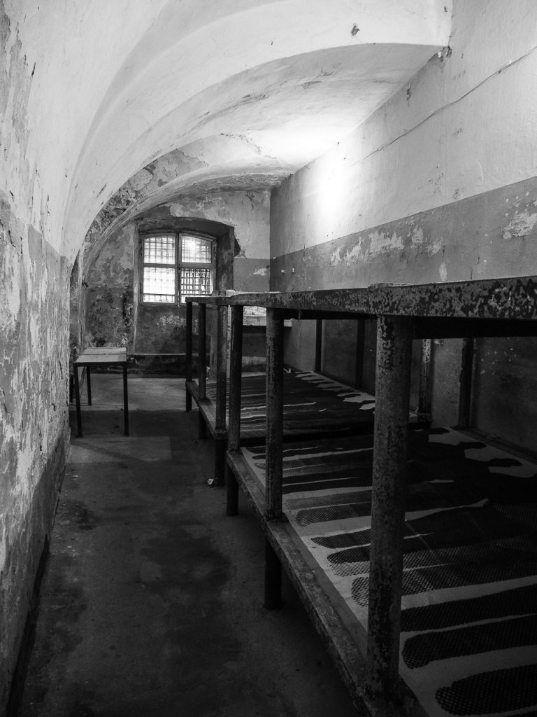 Patarei Prison - processing cells