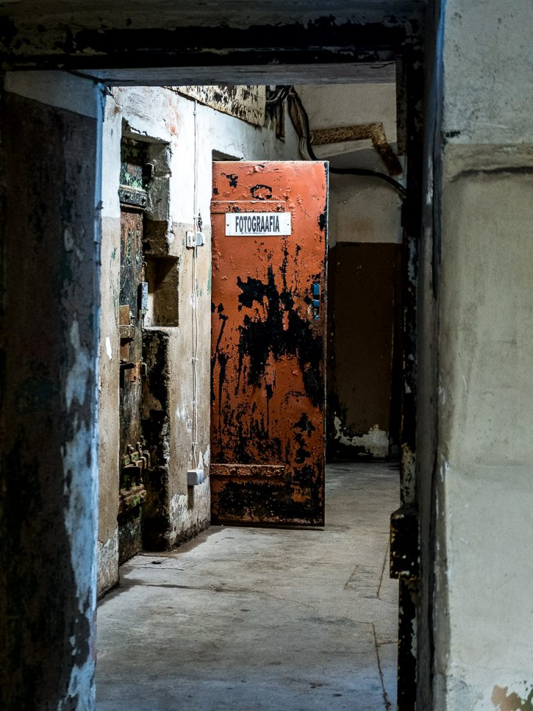 Patarei Prison - prison photographer's room